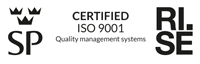 Certified ISO 9001